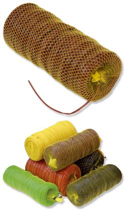 Hohlschnur - Hohlschnur/ Bindeschlauch 4,0 mm braun