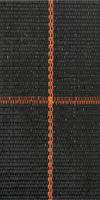 Bändchengewebe 100g/m² 100cm, schwarz&Rolle 100m aus Polypropylen, wasserdurchlässig