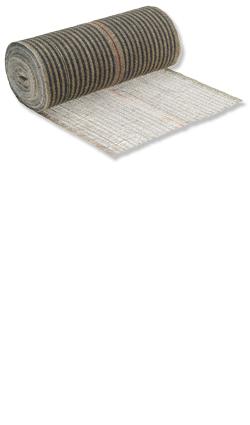 Acryl-Jute-Rollen - Ballierungsgewebe Acryl-Jute 80 cm Rolle