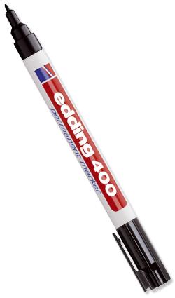 Stifte & Marker - Edding 400 schwarz Strichbreite 1,0 mm