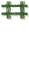 Schattiermatte grün 310 g/m²&Masche 15 x 25 mm