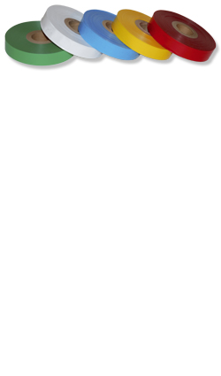 Bindeband, Bindegarn - Markierungsband 25 mm Farbe: gelb