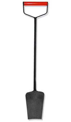 Spaten - Eisenspaten Nr. 4 D mit breitem D-Griff