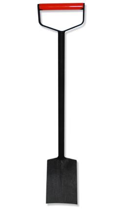 Spaten - Eisenspaten Nr. 4 B mit breitem D-Griff