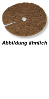 Kokos Abdeckscheiben 22cm&5 Liter Topf