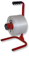 Abroller für Polyesterband&Spulenbreite: max 160 mm