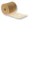 Jute-Rollen - Jute-Streifen 15 cm breit Farbe: natur