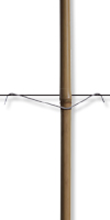 Stabfix-Klammern 135/45 mm&für Zopfstärke: 14-25 mm