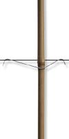 Stabfix-Klammern 175/60 mm&für Zopfstärke: 25-30 mm