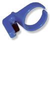 Bindeband, Bindegarn - Ringmesser zum Abschneiden von Bast und Kunstbast