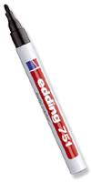 Stifte & Marker - Edding 751 schwarz Strichbreite 1,0 - 2,0 mm