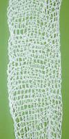 Ballierungsschlauch/-netz&20 weiß, fein