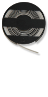 Metallband für Attalink 3A/6A, schwarz&Materialstärke: 0,5 mm