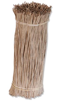 Bindeband, Bindegarn - Rebenbindegarn 30 cm Draht mit Papier umwickelt