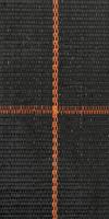 Bändchengewebe 100g/m² 125cm, schwarz&Rolle 100m aus Polypropylen, wasserdurchlässig