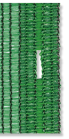 Schattengewebe grün 120 g/m²&mit 35 mm Knopflöchern