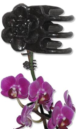 Blumenclips - Flower Clips mit Feder Typ B 10 mm