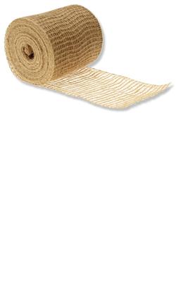 Jute-Rollen - Jute-Streifen 5 cm breit Farbe: natur