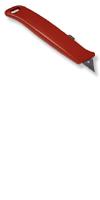 Cuttermesser Alu-Druckguss&rot lackiert