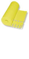 Schlaufen-Ettiketten&16 x 1,3 cm  Farbe: gelb