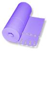 Etiketten - Schlaufen-Ettiketten 16 x 1,3 cm / Farbe: lila