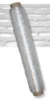 Stretchfolie 500 mm, gelocht&Folienstärke: 9 µ / Rolle: ca. 500 m