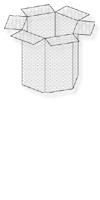 Wühlmauskörbe, verzinkt,&50x50 cm