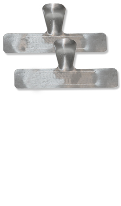 Leittrieb-Clips aus Aluminium