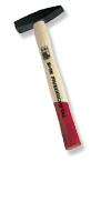 Schlosserhammer mit Eschenstiel&GS-Qualität, 500 g, Stiel: 33 cm