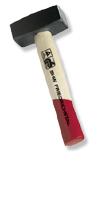 Handfäustel mit Eschenstiel&GS-Qualität, 1500 g, Stiel: 30 cm