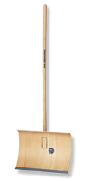 Schneeschieber Sperrholz&mit Klemmfix- Schnellbefestigung