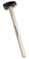 Vorschlaghammer mit Eschenstiel&5000 g, Stiel: 80cm