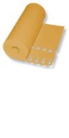 Schlaufen-Ettiketten&12,5 x 1,3 cm  Farbe: orange