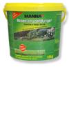 Manna Rasenlangzeitdünger&Für eine optimale Rasenentwicklung